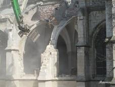 Abriss Kathedrale Frankreich
